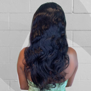 body wave natural colored wig