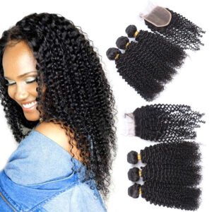 Kinky Curly Hair Bundle