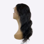 body wave lace front natural colored wig