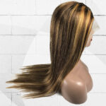 Straight Lace Front T-Part Colored Wig